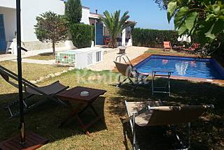 Beautiful villa in Formentera.Two houses. 1 Km beach Formentera