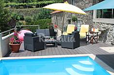 House for 6-7 people with swimming pool Viana do Castelo