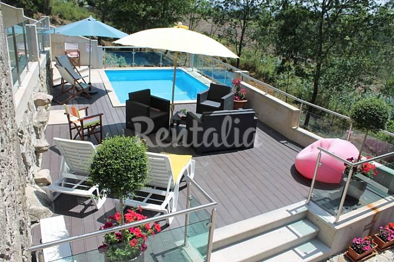 Casa para 6 7 pessoas com piscina calheiros ponte de for Piscinas viana