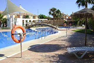 Huis met 2 slaapkamers op 400 meter van het strand Almería