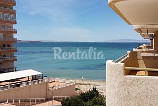 Apartamento para 6-7 personas en 1a línea de playa Murcia