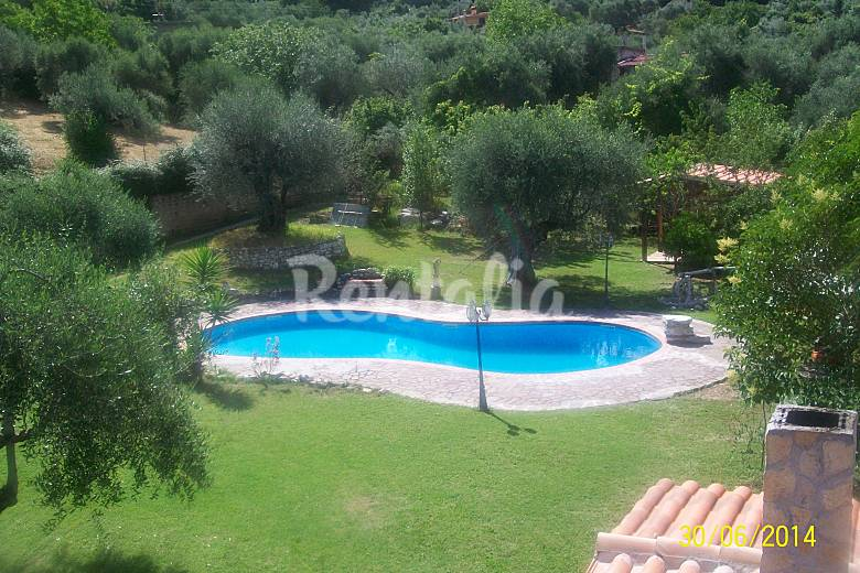 Villa for 6-8 people in Lazio Rieti