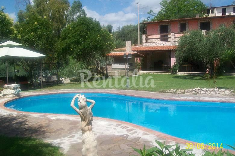 Villa Swimming pool Rieti Fara in Sabina Countryside villa