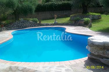 Villa Swimming pool Rieti Fara in Sabina Countryside villa