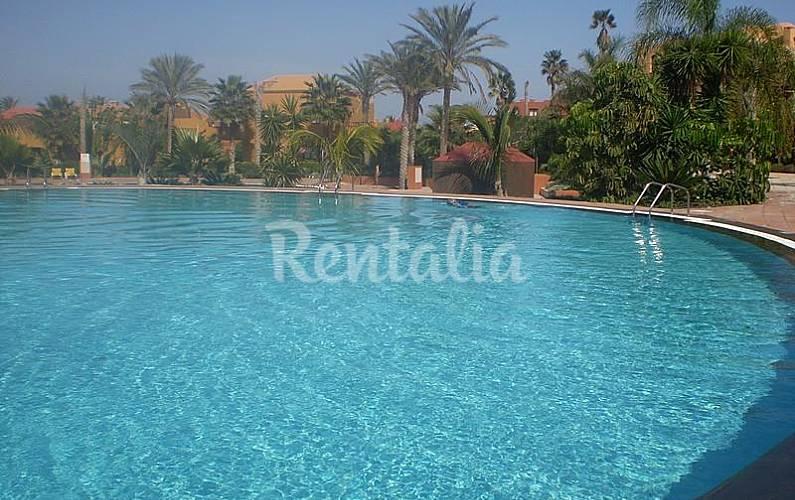 Apartamentos con piscinas de agua salada corralejo la - Camping en oliva con piscina ...