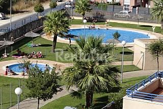 Apartamento 3 Hab, 100 m de la playa con Piscina Cádiz