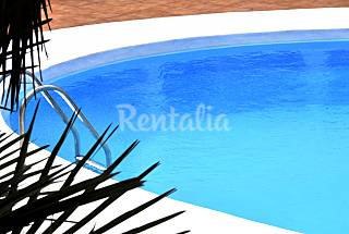 Sea view! Modern apartment, 180 m  to the beach Lanzarote