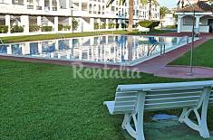 Apartamento con 2 piscinas a 80 m de la playa Castellón
