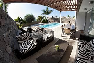 Habitat el duque - Villa de 5 chambres à 500 m de la plage Ténériffe