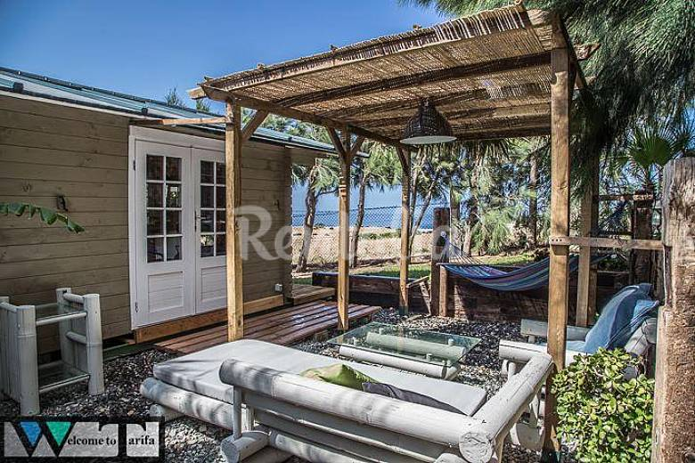 Casas de madera en valdevaqueros tarifa c diz costa de - Casas de madera cadiz ...
