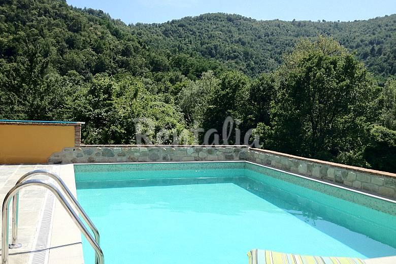 Indipendent Swimming pool Massa and Carrara Tresana Countryside villa