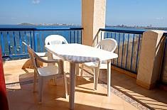 Apartment for 6 people only 20 meters from the beach Murcia