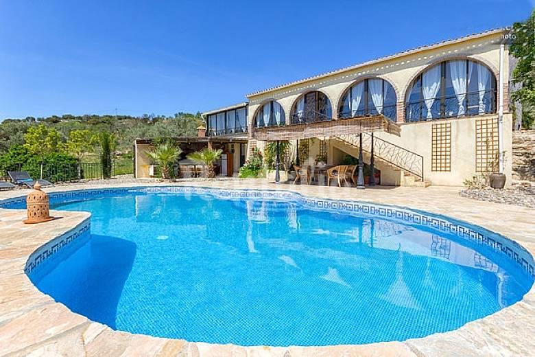 Luxury Villa Private Swimming Pool Mountain Views