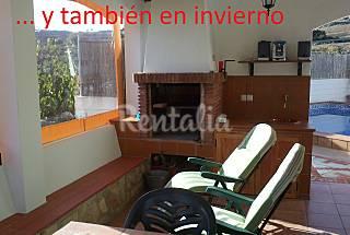 Villa de 2 habitaciones a 1500 m de la playa Málaga