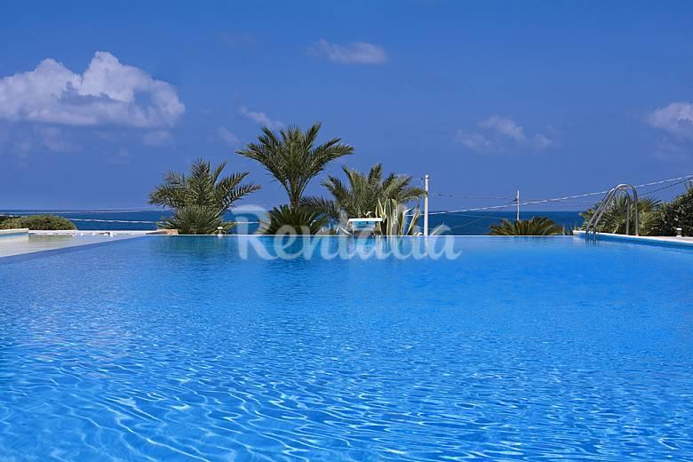 Lussuosa villa con piscina a 10 metri dal mare cornino custonaci trapani sud italia - Piscina gonfiabile 2 metri ...