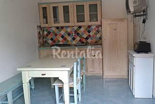 Apartamento para 2-4 personas en 1a línea de playa Olbia-Tempio