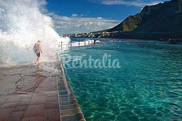 Apartamento en bajamar frente al mar bajamar san crist bal de la laguna tenerife ruta del - Temperatura en san cristobal de la laguna ...