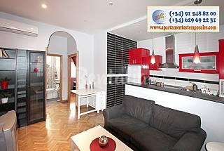 Dos dormitorios en Paseo de la Chopera Madrid