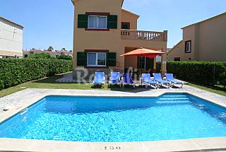 Villa for 6 people , 70 mts. from beach Minorca