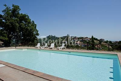 Ville per 4-6 persone - Lazio Viterbo