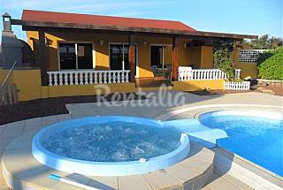 Villa de 2 habitaciones a 1 km de la playa Fuerteventura