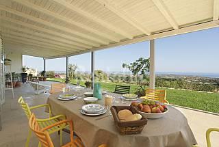 Charming house with stunning sea views, 6 people Ragusa