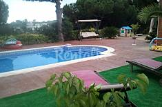 Villa for rent 3 km from the beach Barcelona