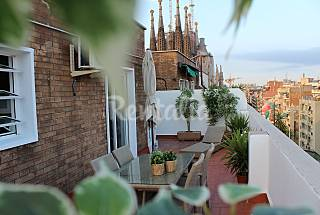 Penthouse terrace, in the heart of Bcn 75 e ! Barcelona