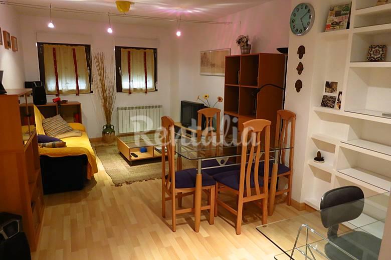 apartamento de 2 habitaciones en zaragoza centro