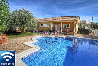 Villa for 10 people only 500 meters from the beach Tarragona