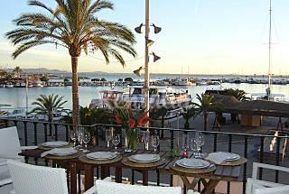 apartamento frente al mar y playa.wifi,aire acond Mallorca