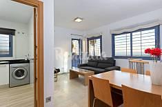 Apartamento bajo B en la primera linea Málaga