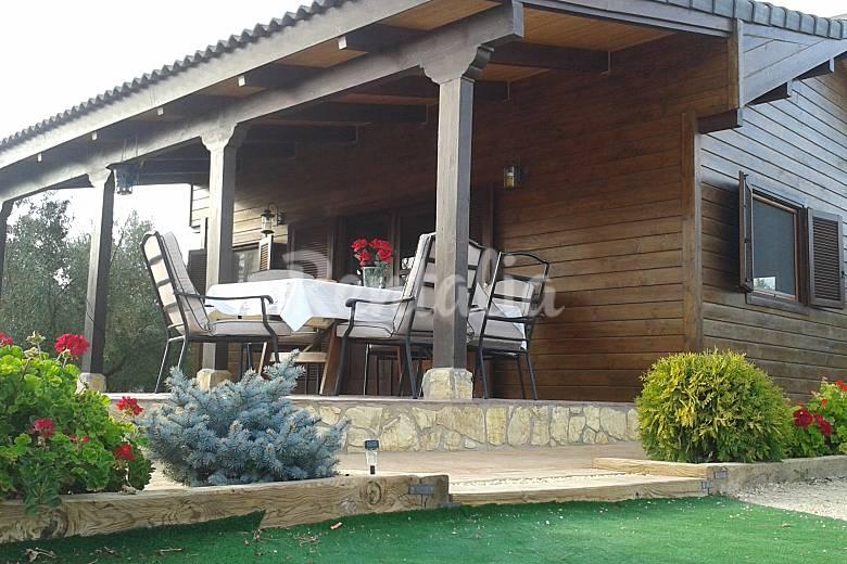 Caba a casa rural en benejama el salse el salse beneixama alicante camino del cid - Casas de madera prefabricadas monforte del cid ...