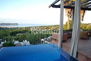 Villa de lujo, espectaculares vistas al mar y wifi Alicante