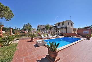 Finca Los Barrancos Playa Jardines y Piscina Huelva