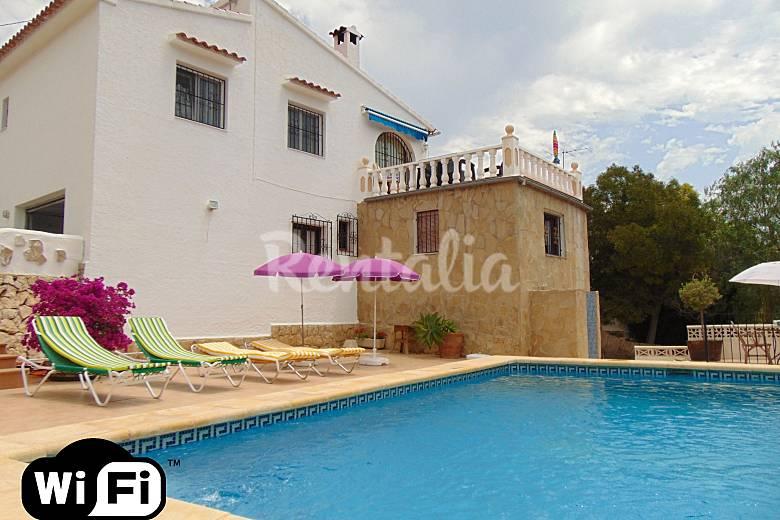 Villa met prive zwembad in de buurt van het strand la fustera carrions benissa alicante - Zwembad met strand ...