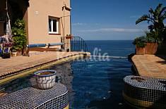 Casa con piscina y vistas al mar Almería