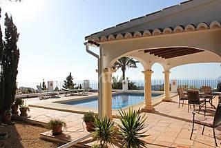 Villa Verde para 2-4 personas con vistas al mar