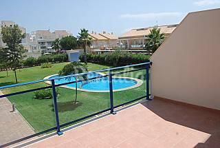 Playa Oliva alquiler duplex en residencial B5 Valencia