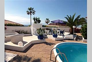precious villa with sea view and swimming pool Tenerife