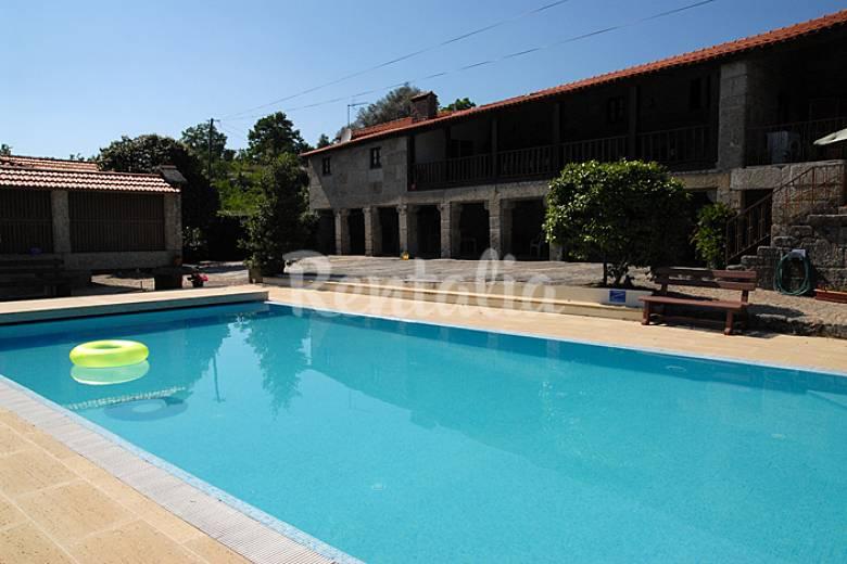 Casa de vacaciones en el norte de portugal vie tabua as vieira do minho braga parque - Apartamentos en lisboa vacaciones ...