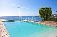 Appartamento per 4 persone in prima linea di spiaggia Maiorca