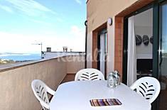 Apartamento con vistas al mar en el centro,Begur Girona/Gerona