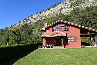 Casas rurales bonitas y baratas en la monta a idealista news for Casa rural 15 personas con piscina