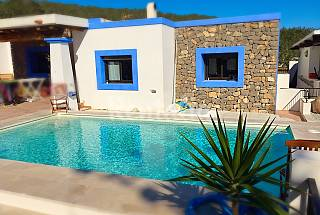 House for rent only 100 meters from the beach Ibiza
