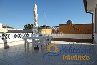 Apartment to 50 meters from the beach of Granelli Syracuse