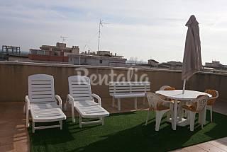 Apart.90m con solarium a 50 m playa. Tarragona