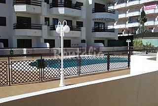 Apartment with 1 bedroom on the beach front line Málaga