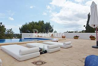 La Aldaba, luxury Ibiza style villa with sea views Alicante