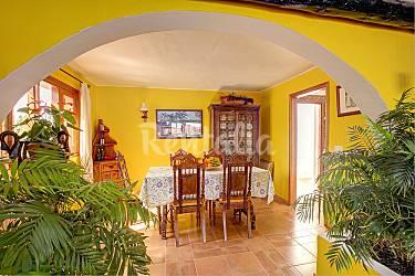 Villa Dining-room Lanzarote Teguise Countryside villa